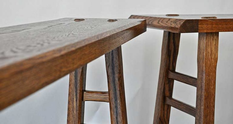 Wills Furniture Oak Console Tables